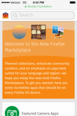 Nouveau marketplace : Welcome to new Firefox Marketplace