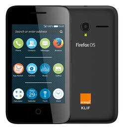 Orange Klif, un Alcatel Onetouch avec Firefox OS