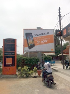 Pub Orange Klif à Dakar au Sénégal