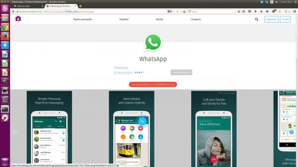 WhatsApp de WhatsApp sur le Marketplace