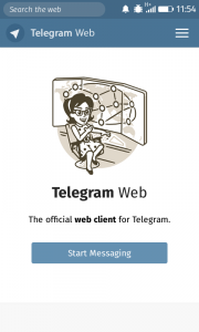 Telegram Web : The official web client for Telegram