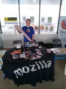 PSESHSF 2016 stand Mozilla