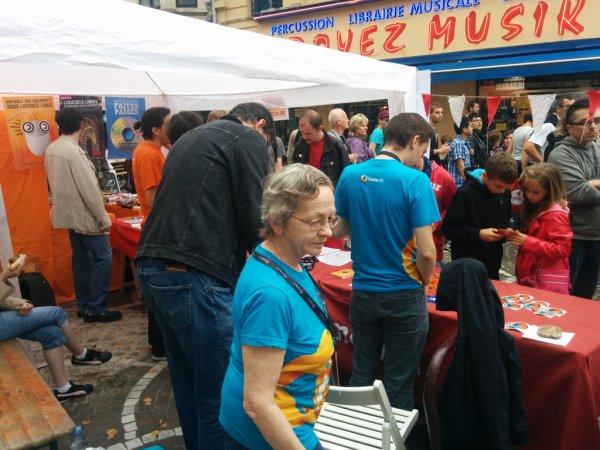 Braderie de Lille 2014 : bénévole Mozilla