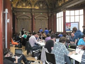 Hackathon Firefox OS à  Mozilla Paris 2013-06-09